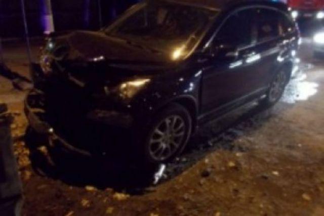 Напромзоне вУльяновске насмерть разбился шофёр «Мицубиси Лансер»