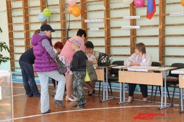 ВНовосибирской области сутра проголосовали 3,3%