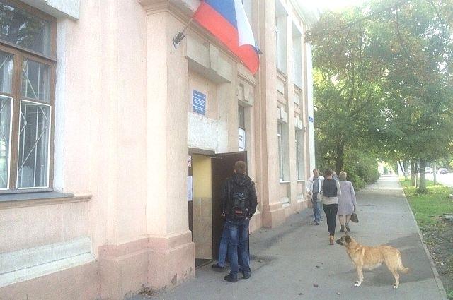 Избирательный участок №№ 2508 и 2509 в Туле
