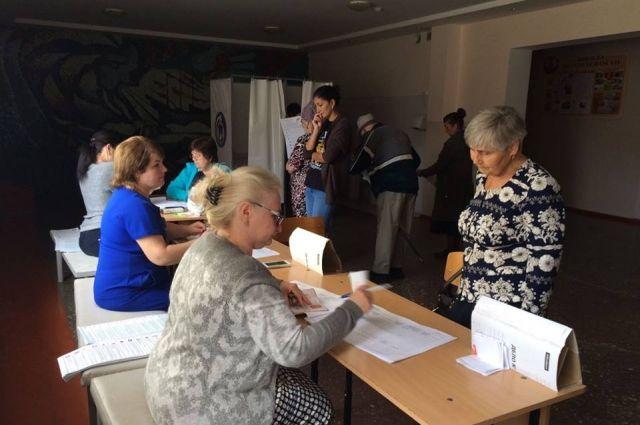 На 15.00 часов в крае проголосовали чуть больше  24% избирателей.