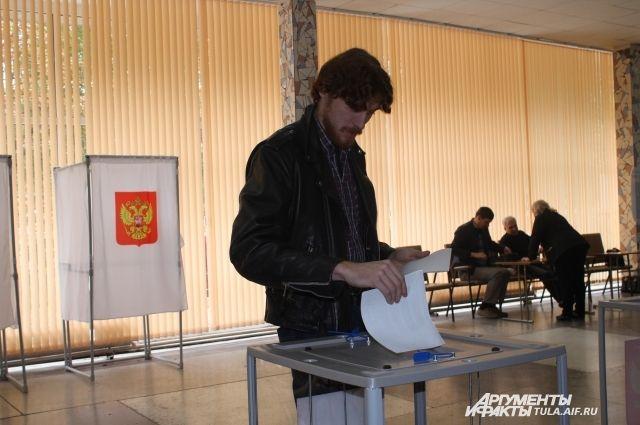 Явка вПетербурге навыборы в Государственную думу составила неменее 16%