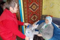 Марина Петровна Козлова - старейший житель Куркинского района