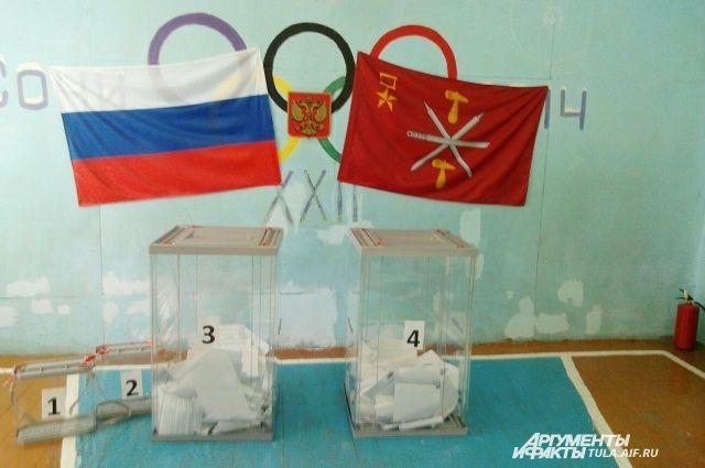 Явка на выборы в Красноярском крае была низкой.