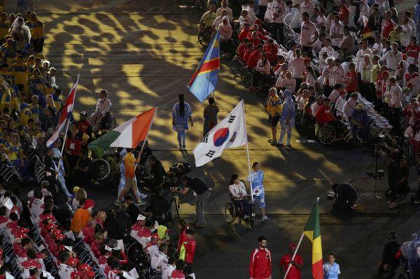 Сборная Украины получила 117 медалей – 41 золотую, 37 серебряных и 39 бронзовых – и заняла третье место.