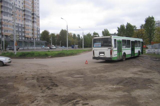 Вярославском автобусе пострадал пассажир