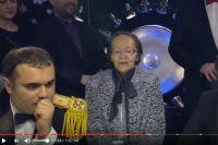 Светлана Сумачакова на игре «Что? Где? Когда?».