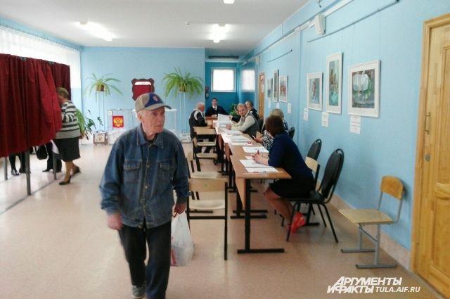 На участки в Петербурге пришли всего 32% избирателей.