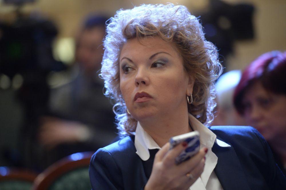 Главный редактор газеты «Культура» Елена Ямпольская.