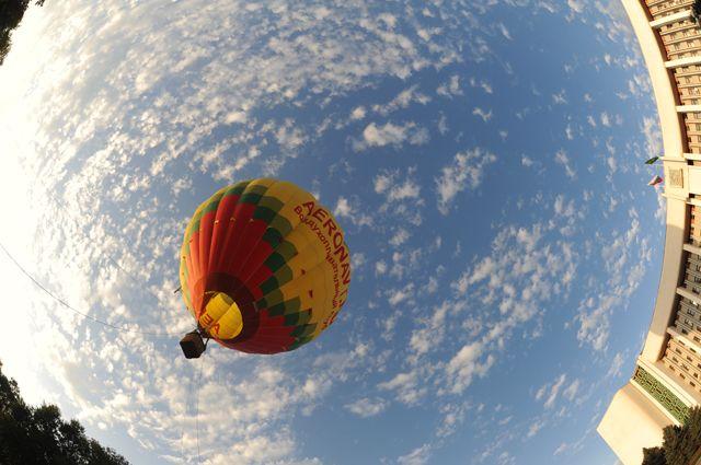 Воздушный шар арестовали задолги ужителя Сарова