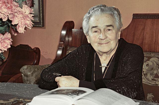 Народная артистка СССР Ольга Книппер-Чехова.
