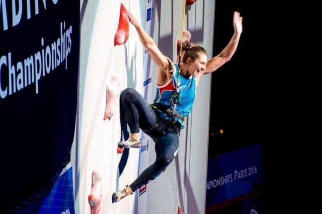 Скалолазка изКрасноярска стала чемпионом мира