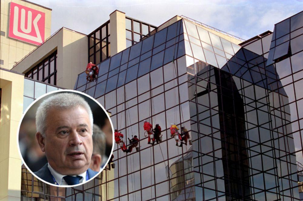 1 место: «Лукойл». Президент: Вагит Алекперов. Выручка: 5,17 трлн руб.