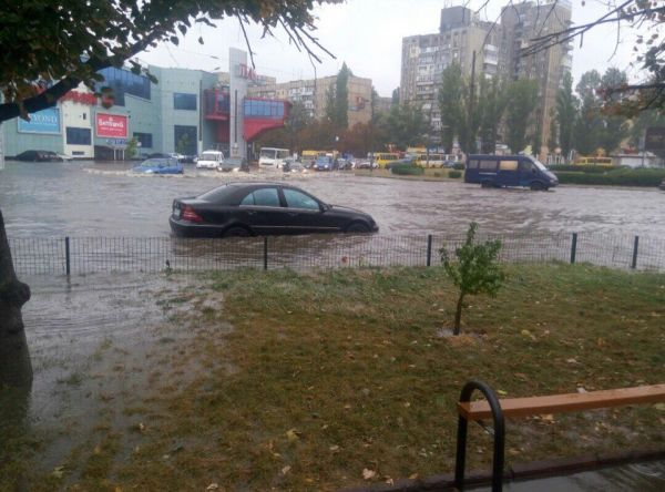 В Одессе реально все «плавает»