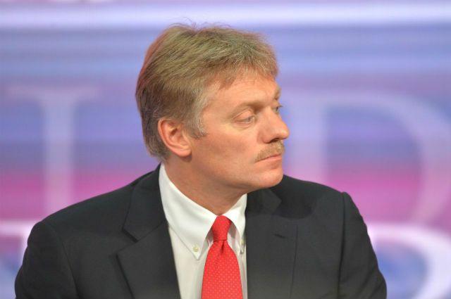 Кремль считает обвинения вобстреле гумколонны вадрес Российской Федерации голословными