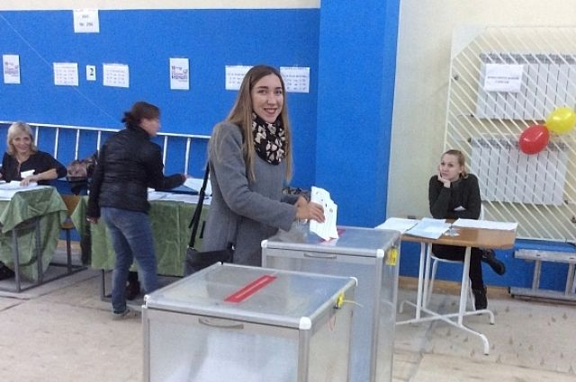 На выборах как никогда было много молодежи.