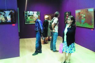 «Ихтиология» заинтересовала многих поклонников живописи.