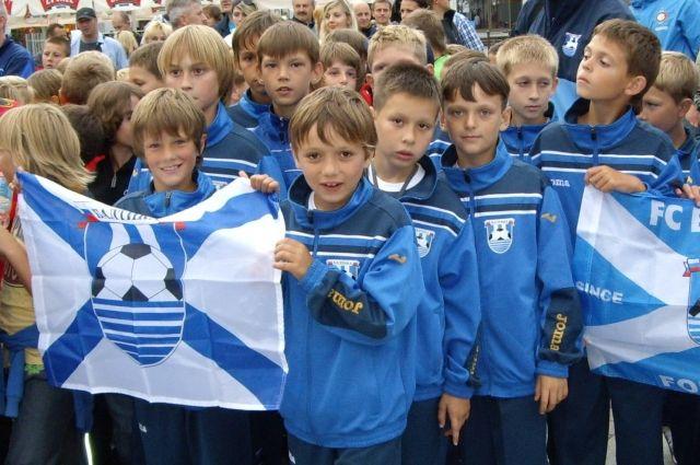 Юных футболистов приглашают на учебу в центр подготовки «Балтики».
