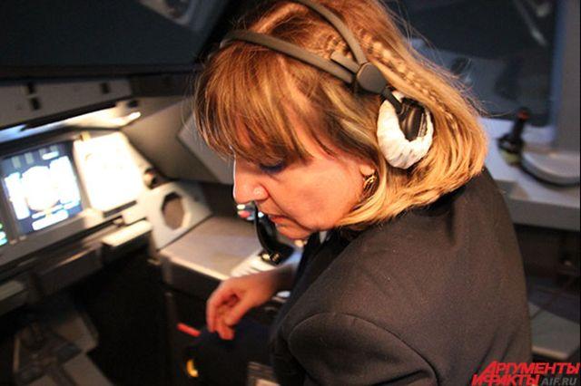 Пилот на Boeing 777-300
