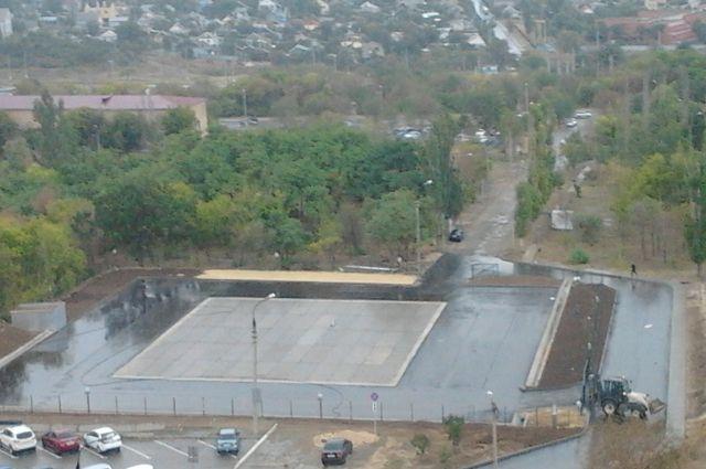 ВВолгограде заканчивается строительство площадки кЧМ