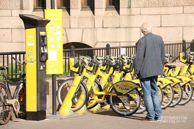 В Финляндии велосипеды напрокат выдают... бесплатно.