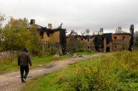 В посёлке Текстилей, где 8 лет назад собирались сатанисты, почти не осталось жилых домов.