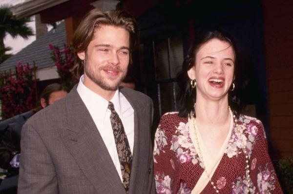 Джульетт Льюис и Брэд Питт познакомились на съемках фильма «Слишком молода, чтобы умереть». Тогда еще начинающие актеры встречались четыре года.