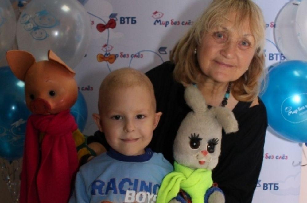 «Пусть каждый малыш будет любимым и счастливым», ‑ считает Наталья Голубенцева, голос Степашки.