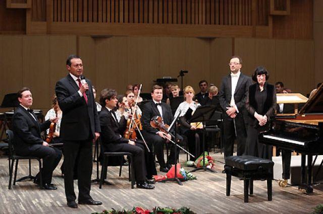 На фестивале красноярцы впервые услышали придворную оркестровую музыку страны восходящего солнца.