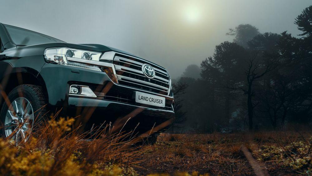7 место: Toyota Land Cruiser