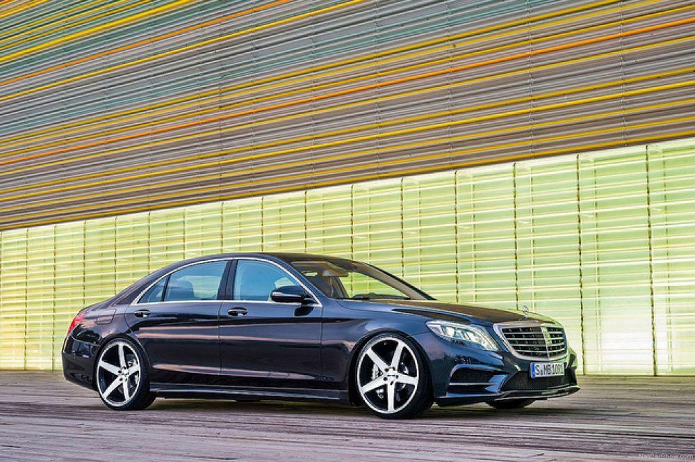 2 место: Mercedes Benz S-Class