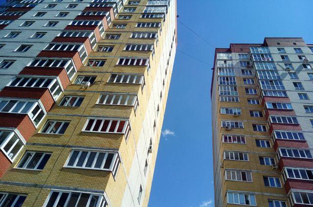 Омские многоэтажки радуют взгляд.