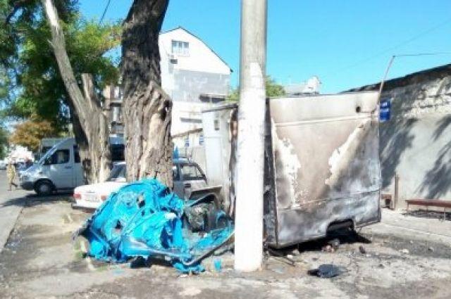 ВОдессе сооружение диспетчерской забросали коктейлями Молотова: охранник умер