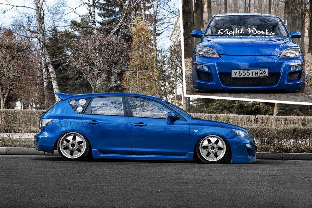 «Лучший Stance-Static». 2 место - Mazda3 RightWorks, Ставрополь.