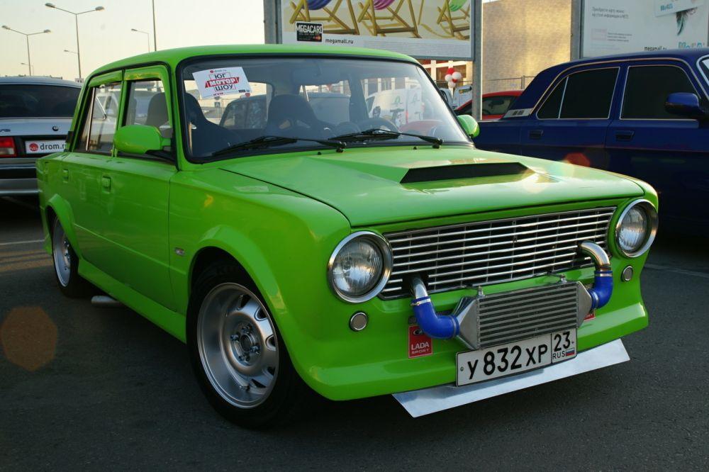 «Лучший Лада-стайл». 1 место - ВАЗ-2101 «Тиффани», Краснодар.