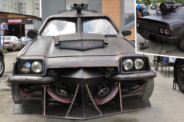 «Лучший проект». 2 место - Opel Manta «Машина-перехватчик», Майкоп.