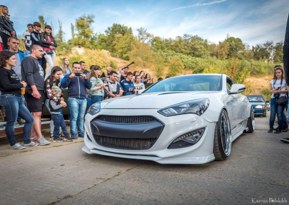 «Лучший Stance-Static». 1 место - Hyundai Genesis Coupe, Ростов-на-Дону.