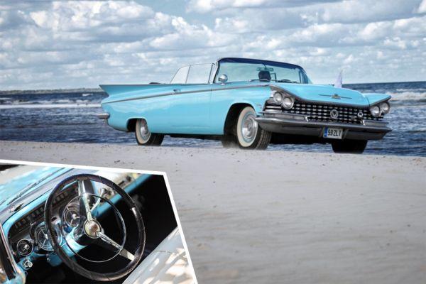 «Выбор организаторов». 1 место - Buick Electra Convertible, Тарту (Эстония).