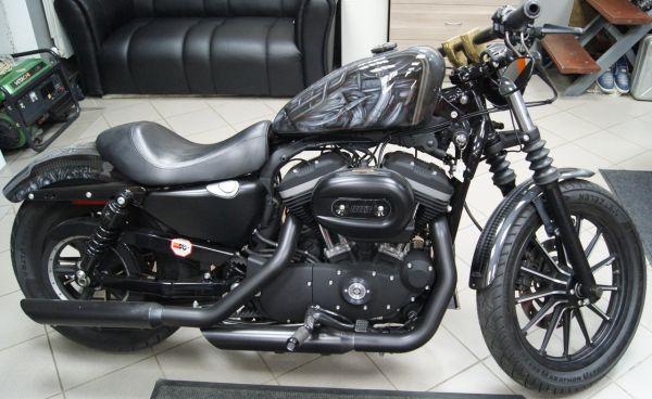 «Лучший мотоцикл». 2 место - Harley-Davidson XL883 Iron Gray Harley , Краснодар.