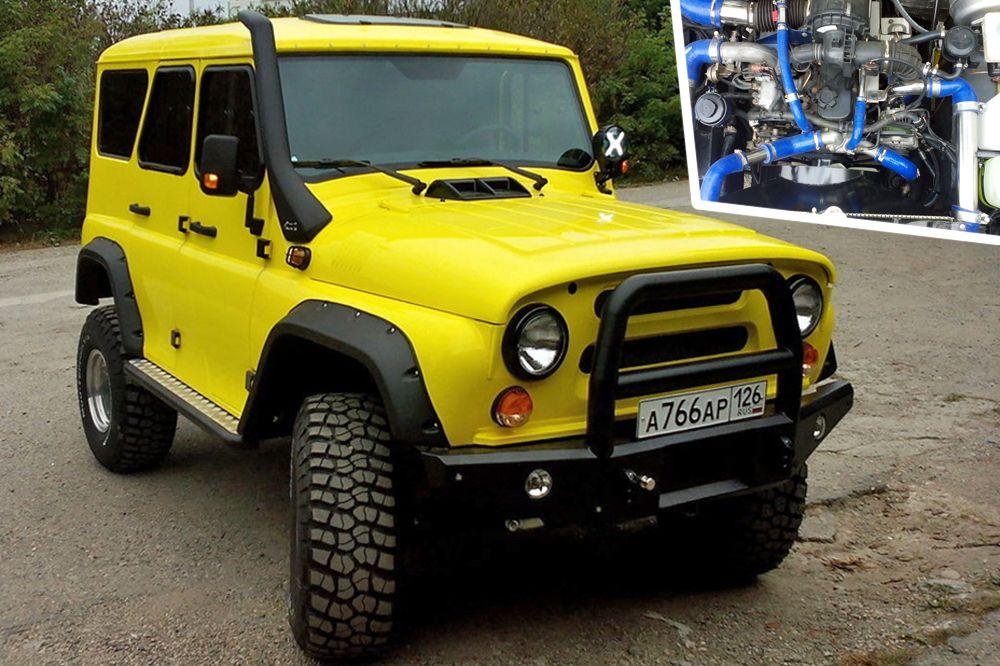 «Лучший внедорожник». 1 место - УАЗ-469 «Желтый», Пятигорск.
