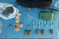 Взрывчатка, мина и гранаты