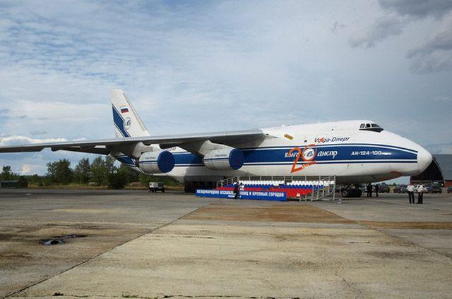Все русские самолеты Ан-124 «Руслан» продолжат летать независимо отрешений государства Украины