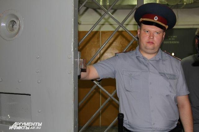 ВБрянской области заключенный напал насотрудника СИЗО