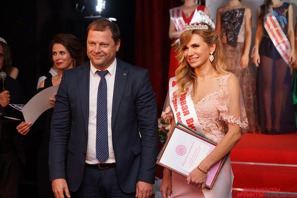 «Первая вице-Миссис» – Екатерина Глезман.