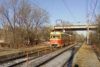 13-й трамвай загорелся в Новосибирске