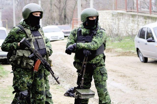 Силовики перекрыли один израйонов Дагестана впоисках боевиков