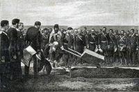Закладка великой сибирской дороги, 1891 год.