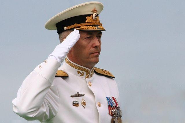 Вице-адмирал Александр Носатов назначен командующим Балтийским флотом.