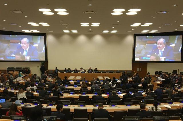 В Нью-Йорке состоялась встреча министров иностранных дел стран ОИС