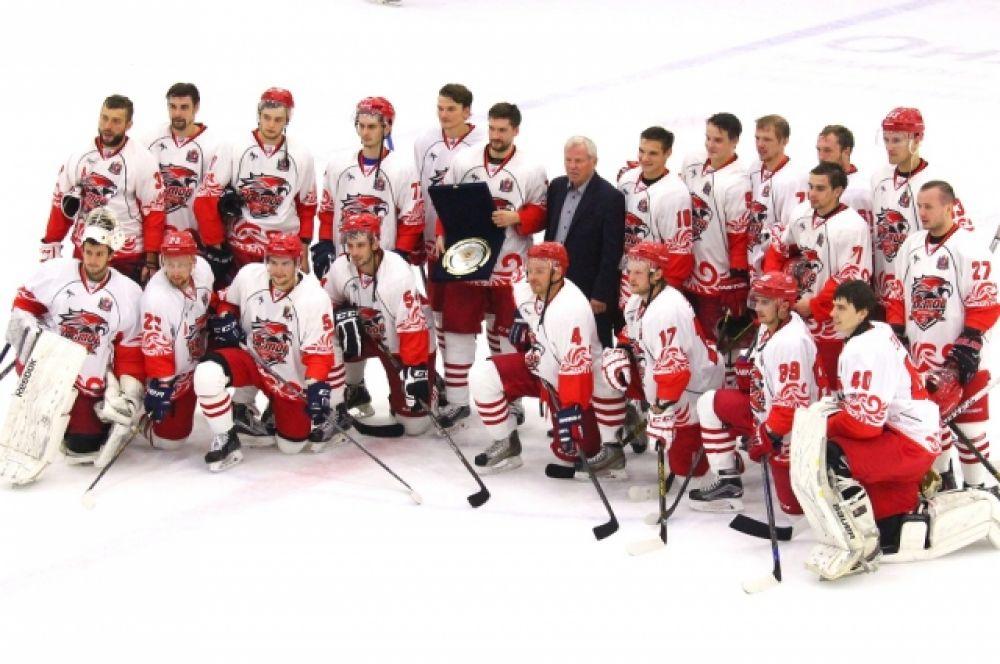 Ростовские хоккеисты выиграли приз открытия нового сезона 2016/2017.