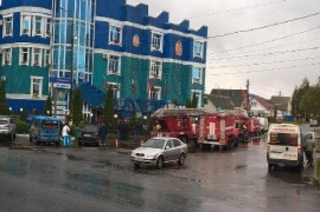 Всауне брянской гостиницы случился пожар— эвакуировали 20 человек